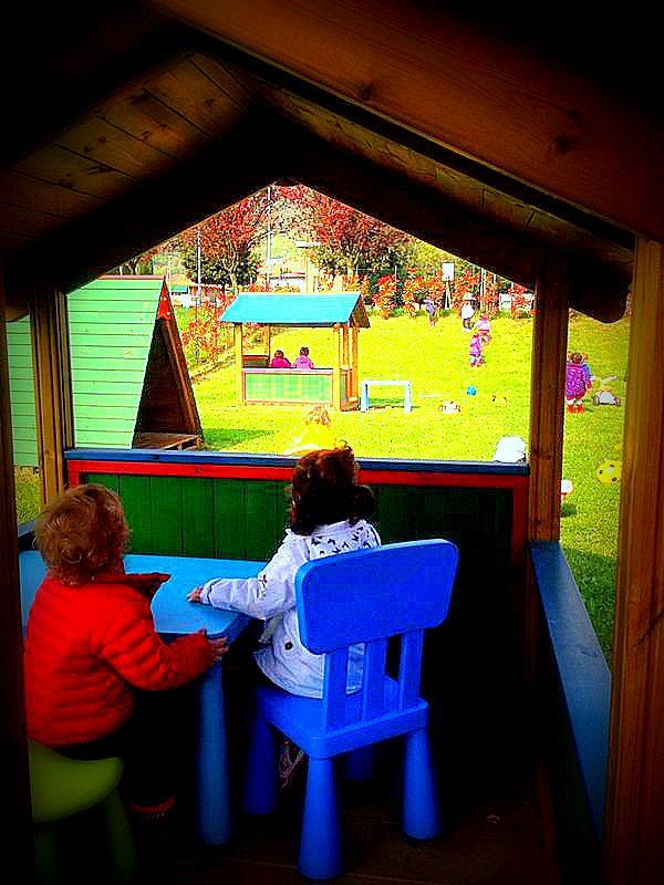 E' Primavera…noi giochiamo in giardino!!