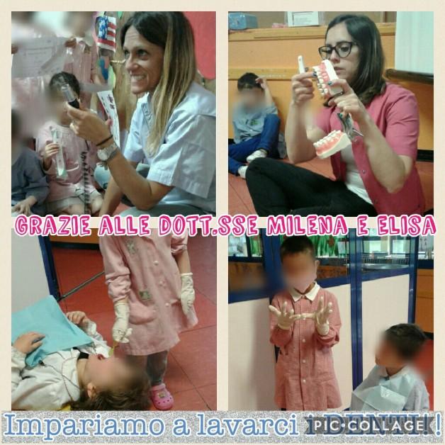 Prendiamoci cura dei nostri DENTI! (Ringraziamo le dott.sse Milena e Elisa dello studio dentistico del Dott. Fiammenghi)
