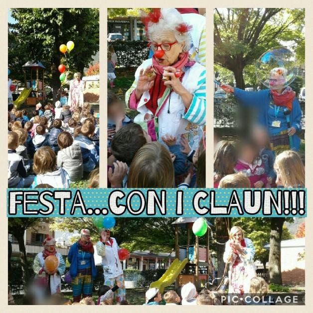 Grande FESTA in giardino con i CLAUN!! 🎉🎊🎉🎈